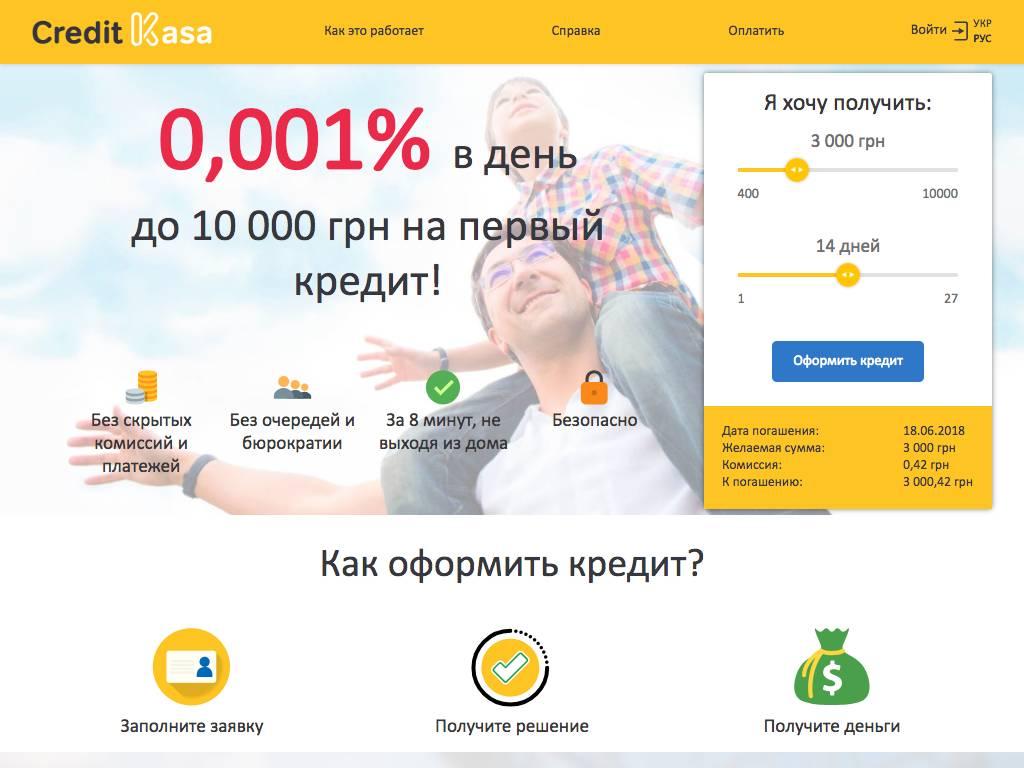 creditkasa.com.ua size large - CreditKasa Украина